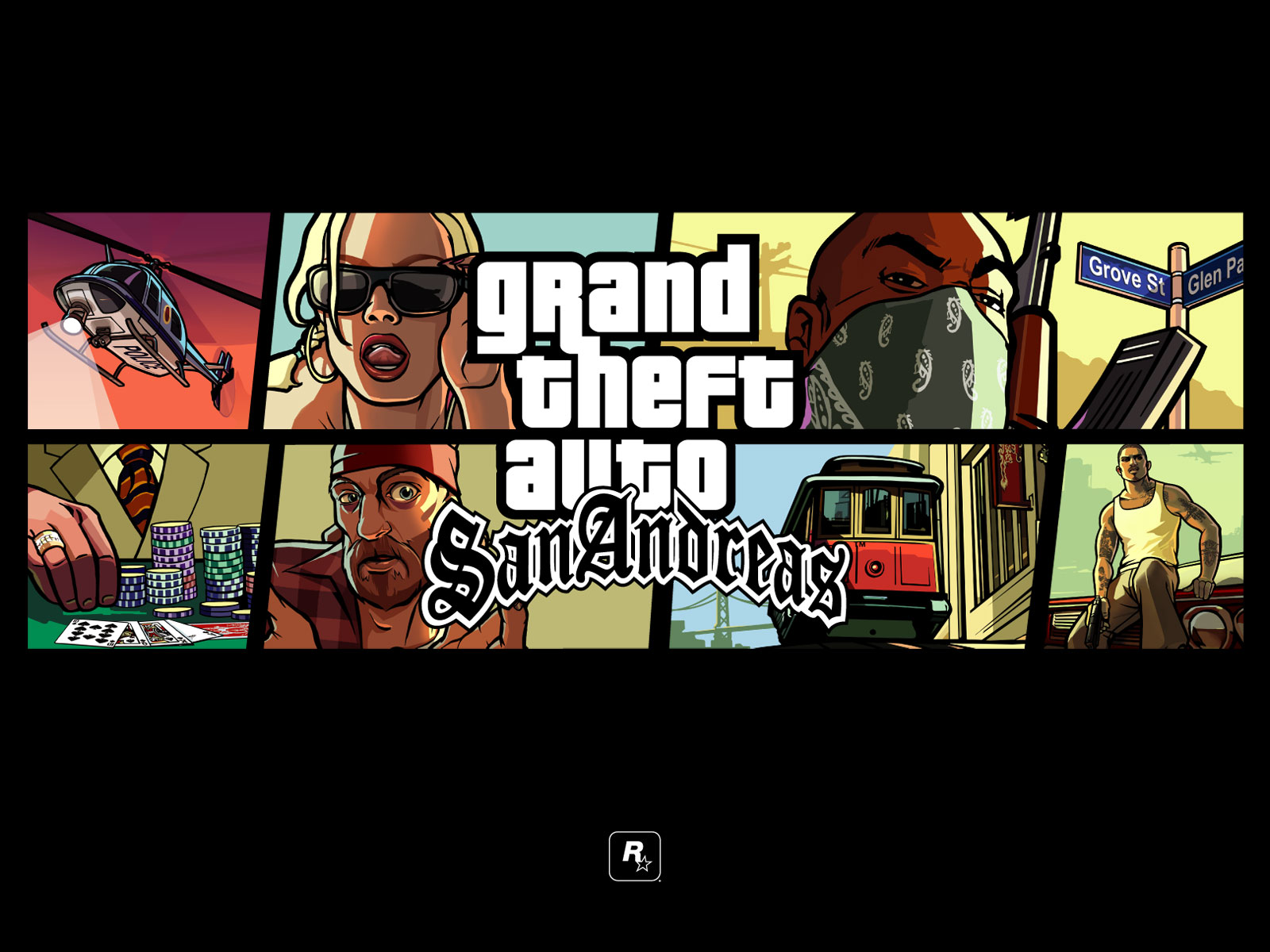 Grand Theft Auto GTA San Andreas PC Download