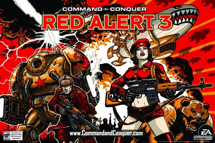 Command & Conquer Red Alert 3 PC Download