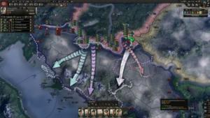 Hearts of Iron IV Man the Guns image 8